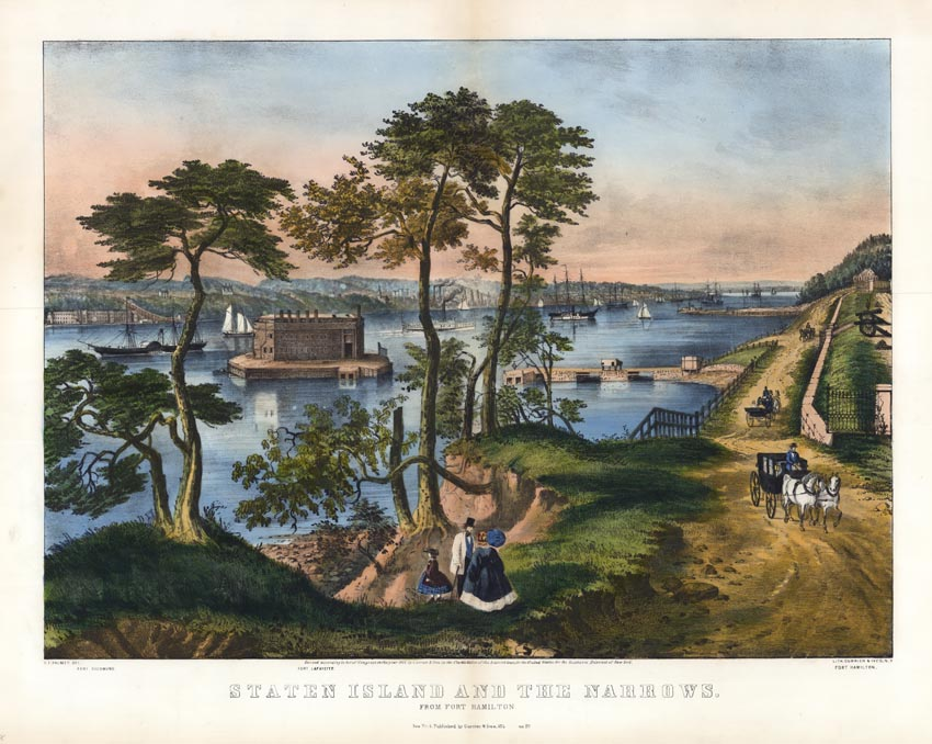 Currier and Ives Fort Hamilton