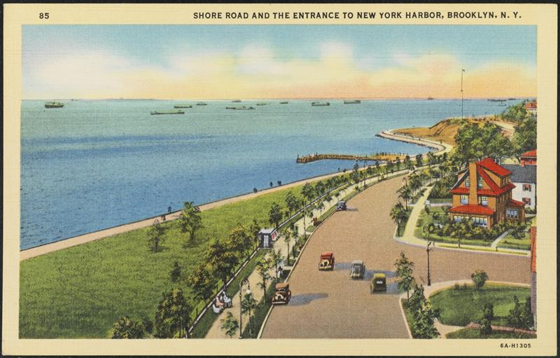 Shore Road postcard