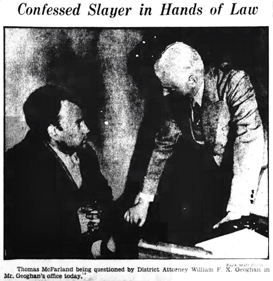 Thomas McFarland Interrogated