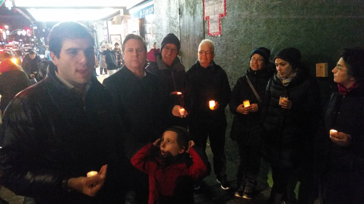 Bay Ridge Candlelight Vigil
