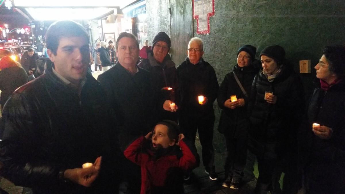 Bay Ridge Candlelight Vigil