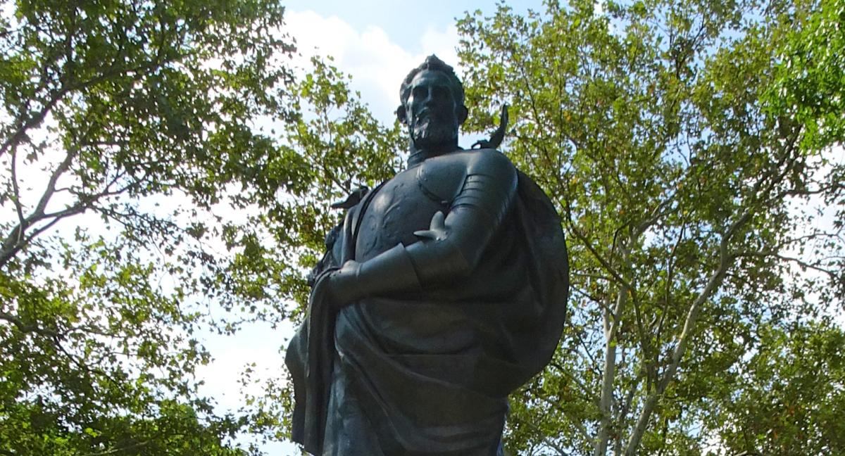 Verrazzano Statue