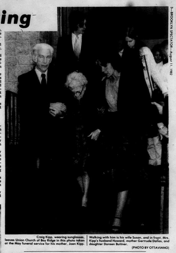 Joan Kipp funeral