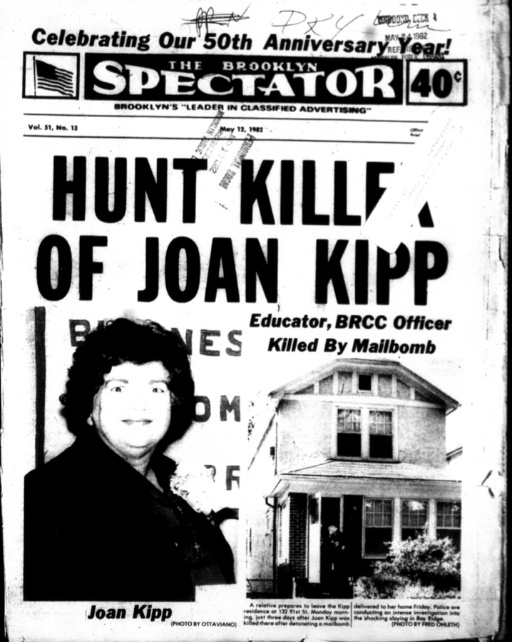 Joan Kipp newspaper cover