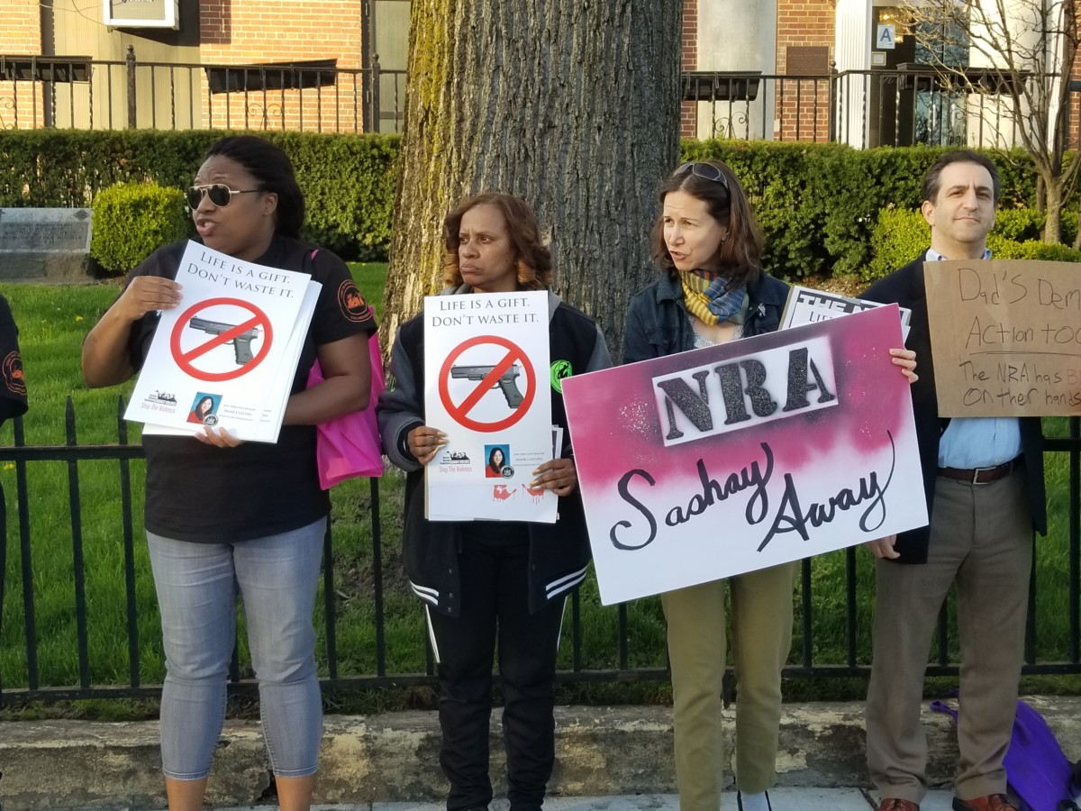 Protesting the NRA
