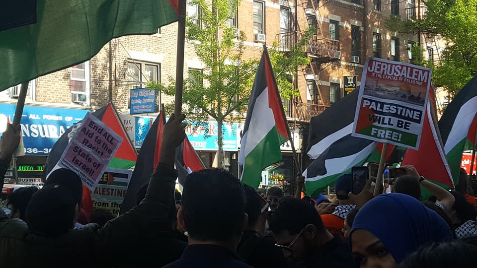Nakba Rally in Bay Ridge