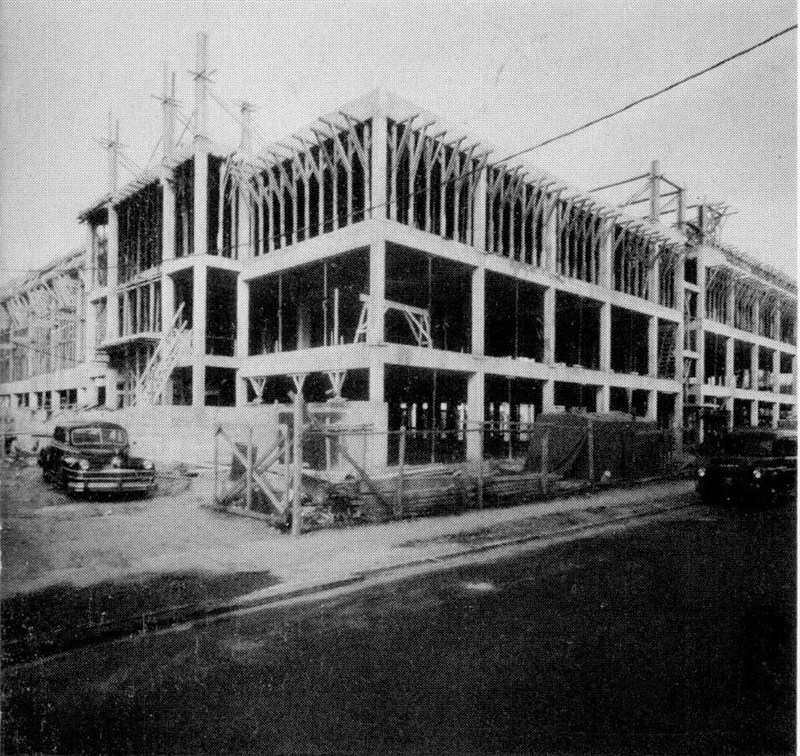 Xaverian Under Construction