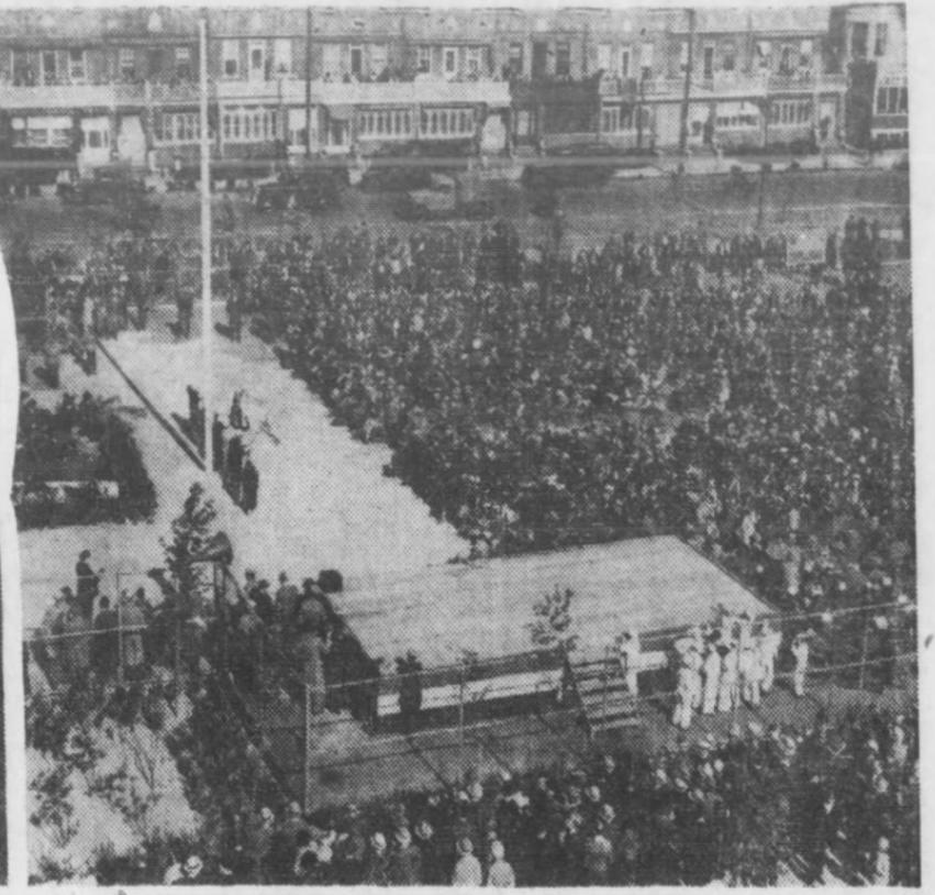 Leif Ericson Park opening ceremony