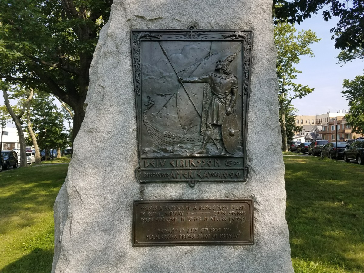 Leif Ericson Park rune stone