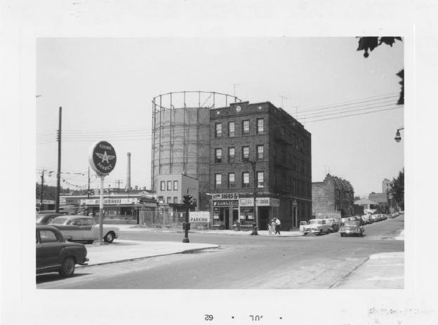 65th Street gas tank