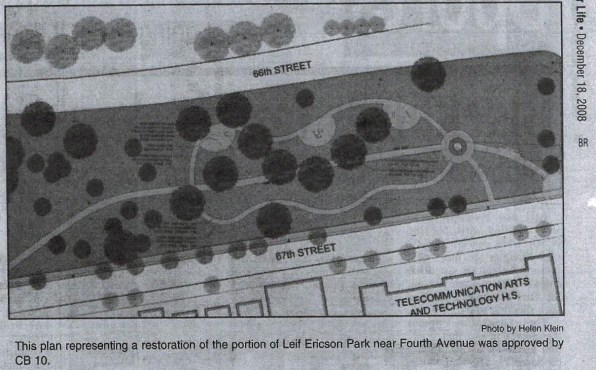 Leif Ericson redesign plans
