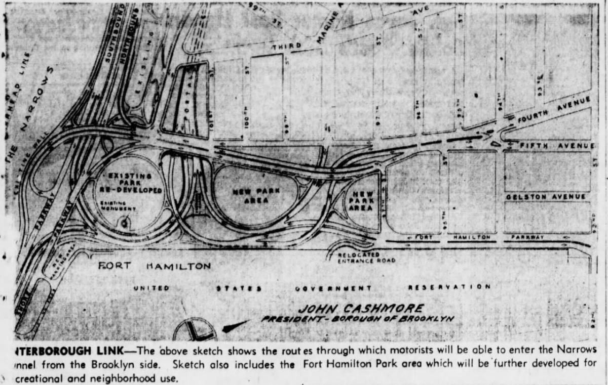 Staten Island tunnel
