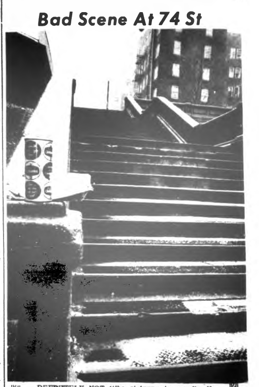 74th Street stairs