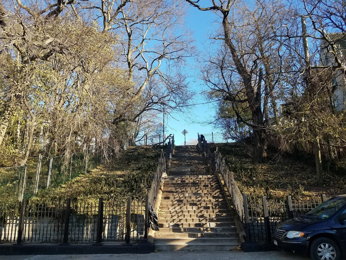 The 76th Street Stairs
